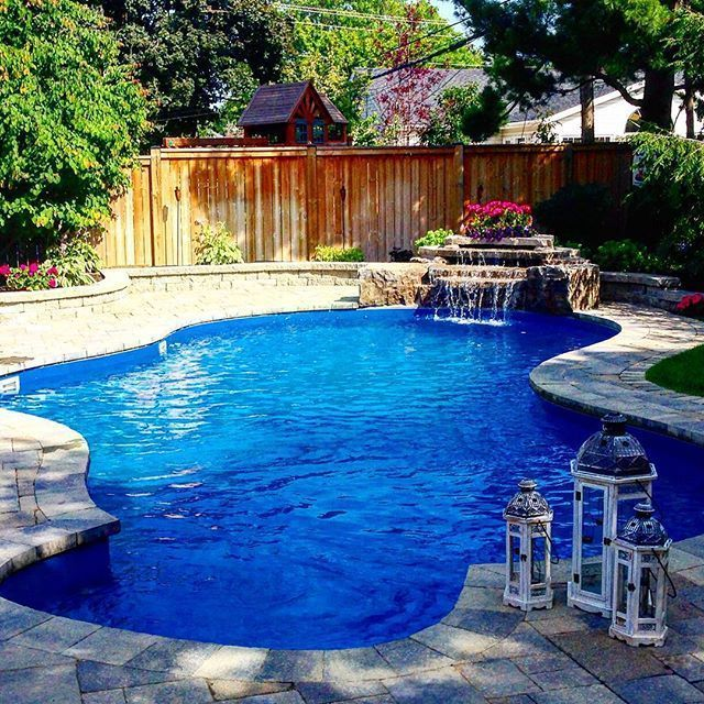 inground pools with waterfalls and hot tubs. Inground Pools - Pioneer Family We Know Pools, Hot Tubs, Patio | Garden, Pool Plants And Waterfall With Waterfalls Tubs H