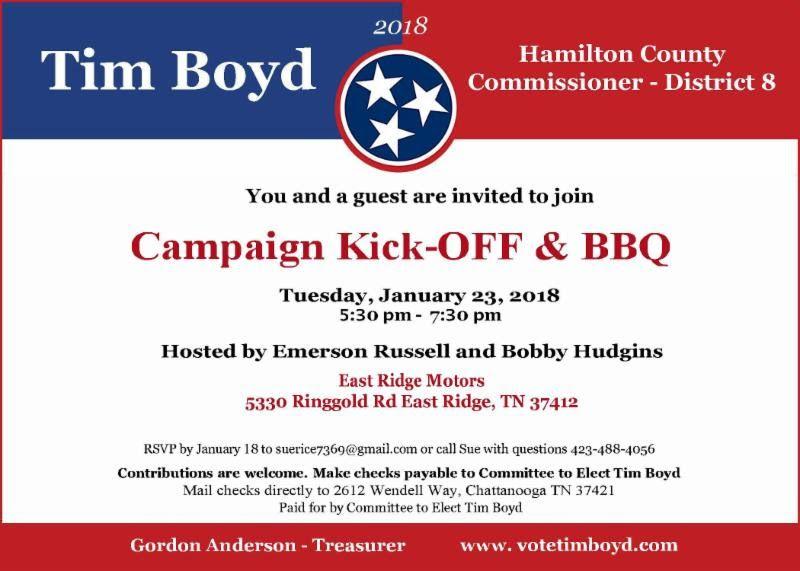 Image Result For Campaign Kickoff Invitation Invitations Hamilton County Campaign