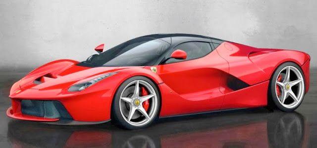 Wallpaper Mobil Sport Ferrari: Ferrari Laferrari, Ferrari