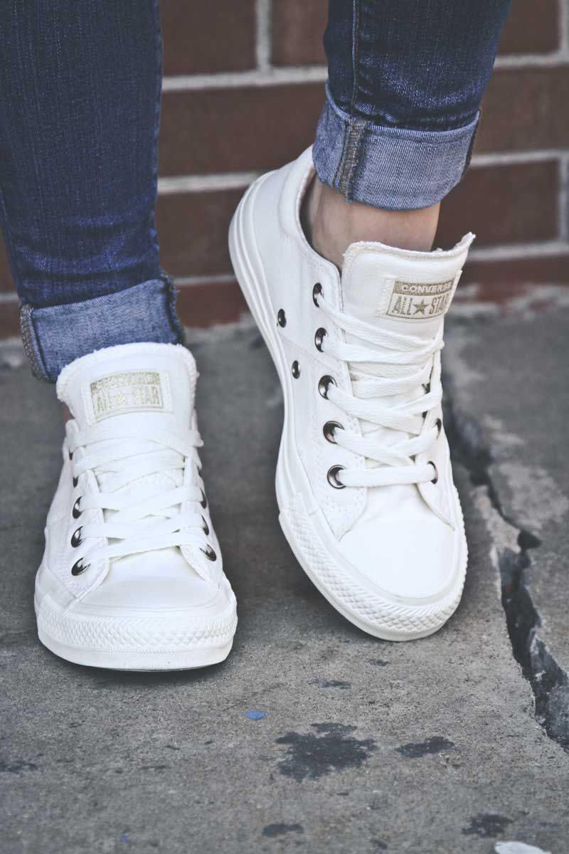 chuck taylor madison ox white 1216ee