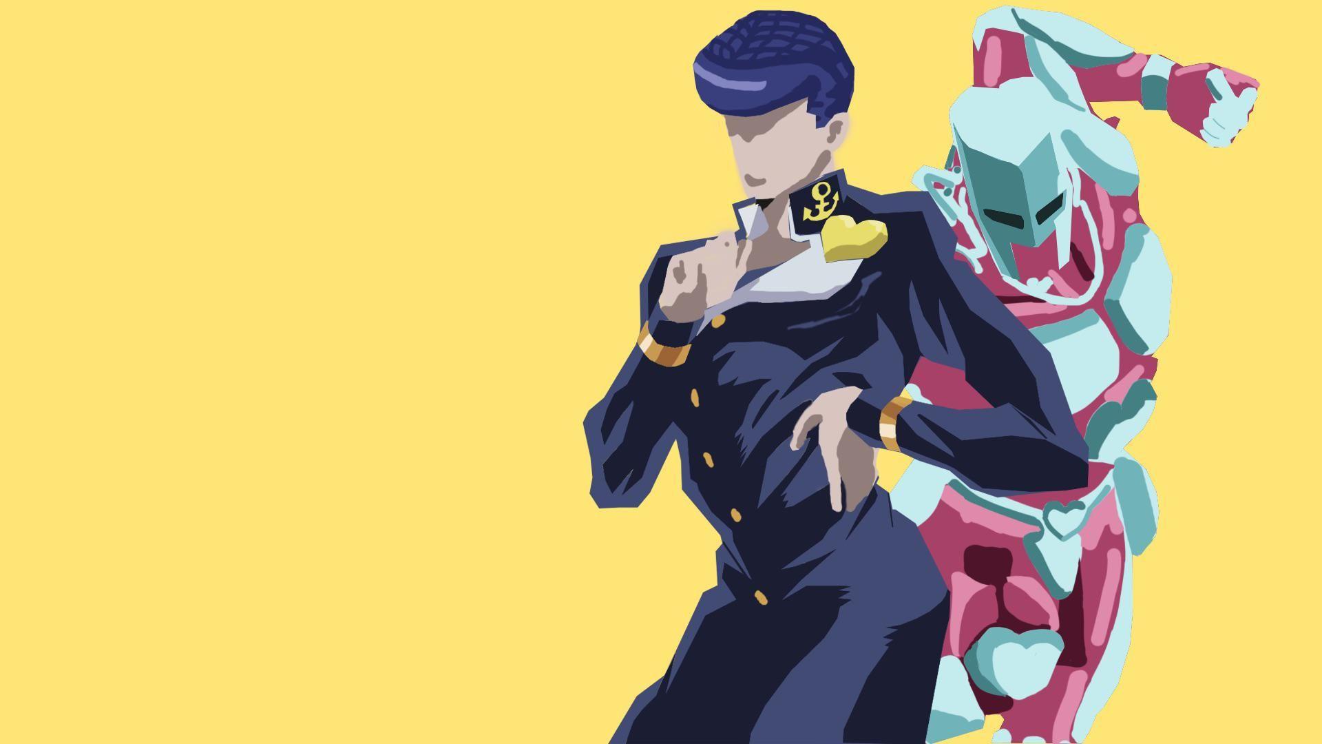 Josuke Higashikata 1920x1080 Cute Anime Chibi Cartoon Art Styles Jojo S Bizarre Adventure