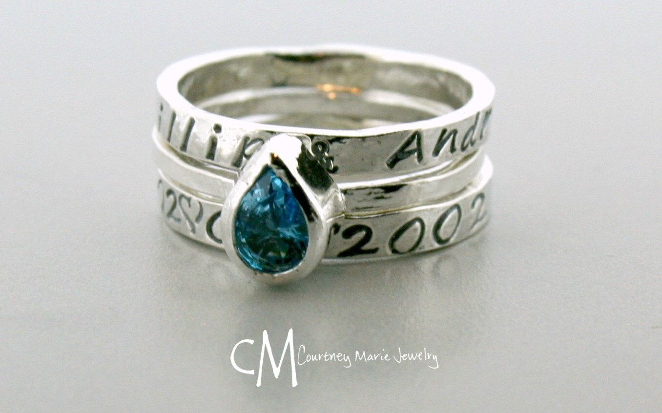 rings wife jewelry hammonton barnes tree nj gift rosemarie birthstone artisticcreationsbyrose creations present artistic by mother rose river push family willow