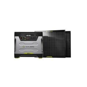 Goal Zero Yeti 1250 30 Watt Solar Generator Kit 39004 At The Home Depot Mobile Solar Generator Solar Powered Generator Solar