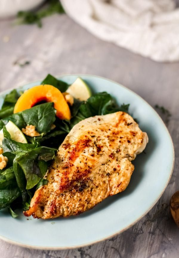 Tender and juicy air fryer chicken breasts are a breeze to ...