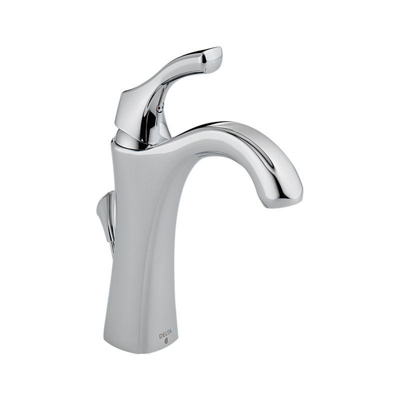 Delta 592Dst Addison Single Handle Centerset Lavatory Faucet Mesmerizing Delta Single Hole Bathroom Faucet Decorating Design