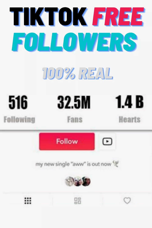 Tiktok Free Followers Generator Working Daily Update Free Followers Free Followers On Instagram How To Get Followers