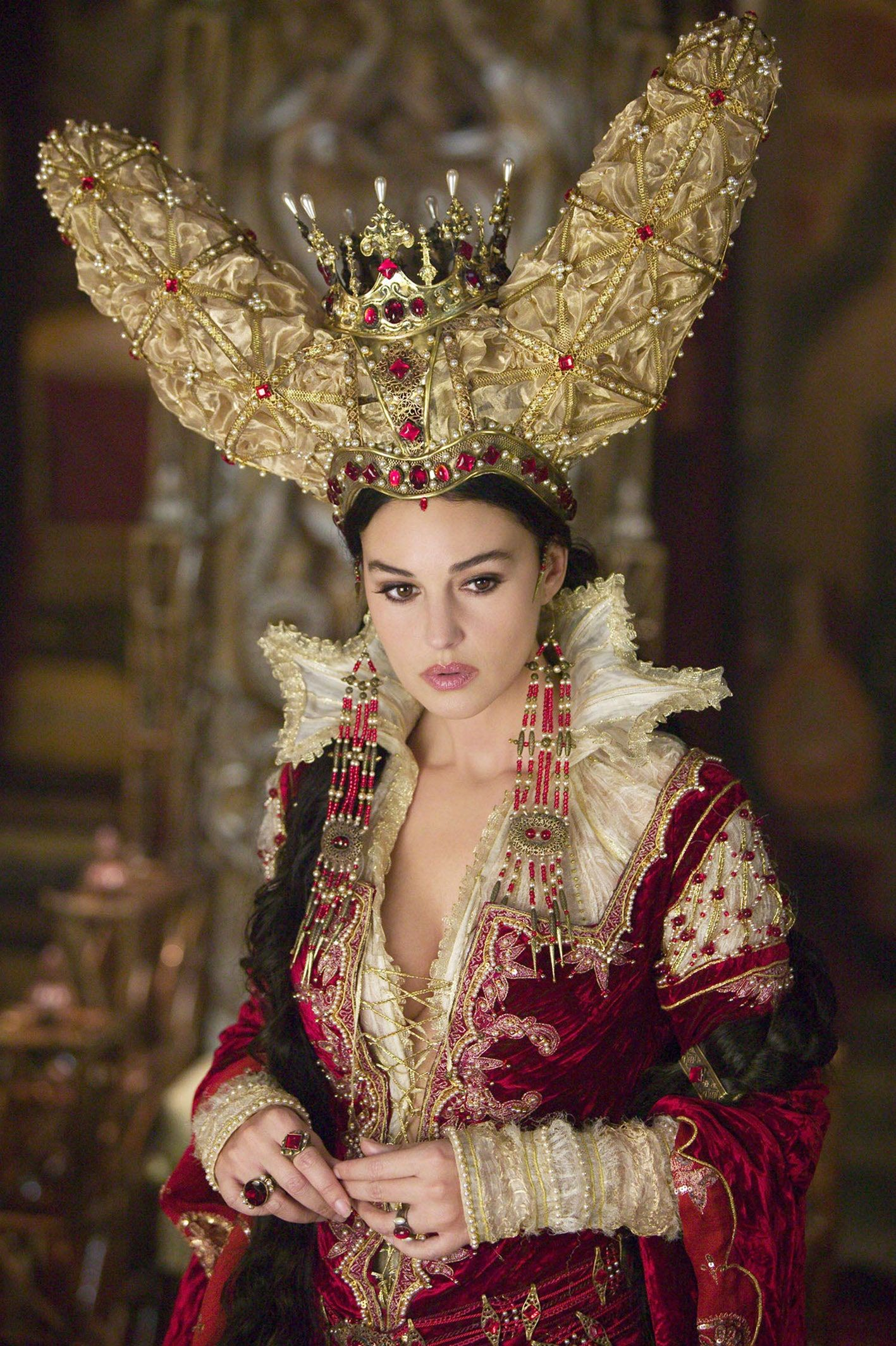 Monica Bellucci in The Brothers Grimm by Terry Gilliam