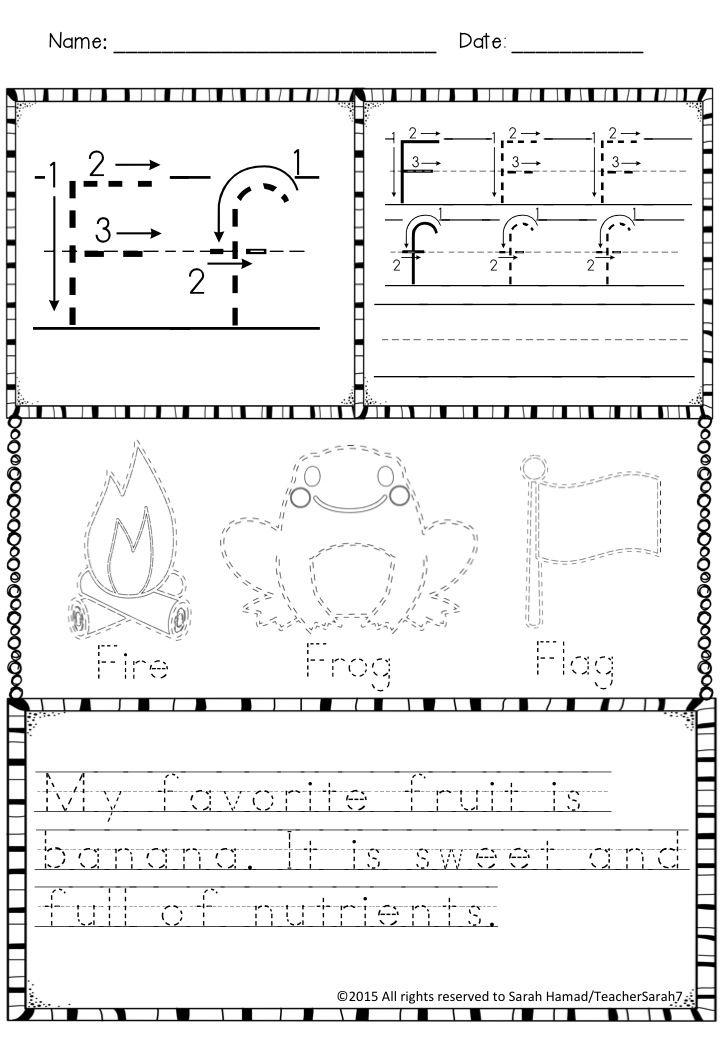 Fun Handwriting Practice Worksheets | Best of Back to School ...