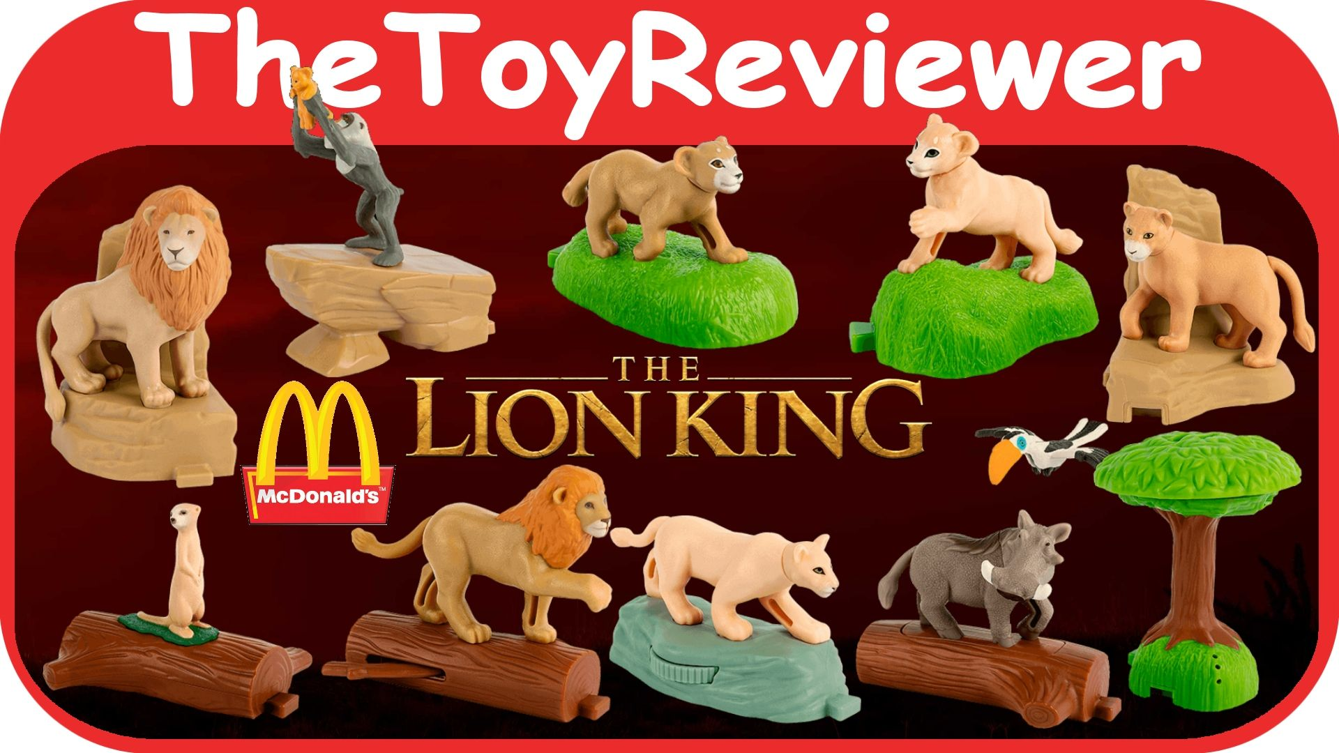2019 The Lion King Mcdonald S Happy Meal Toys Happy Meal Toys Lion King Toys Happy Meal Mcdonalds