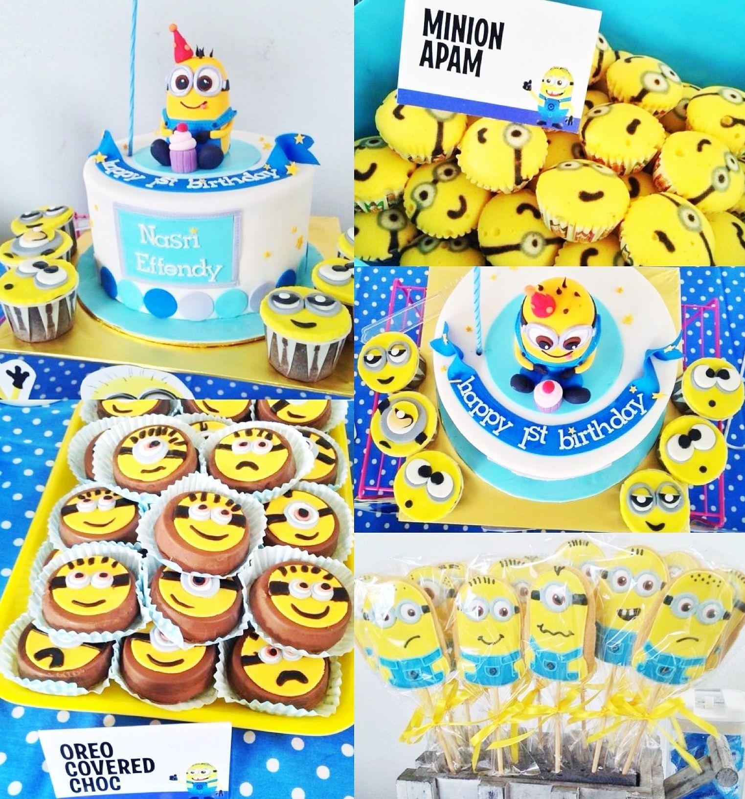 Minion Themed Party, Sweet Treat Table #birthday