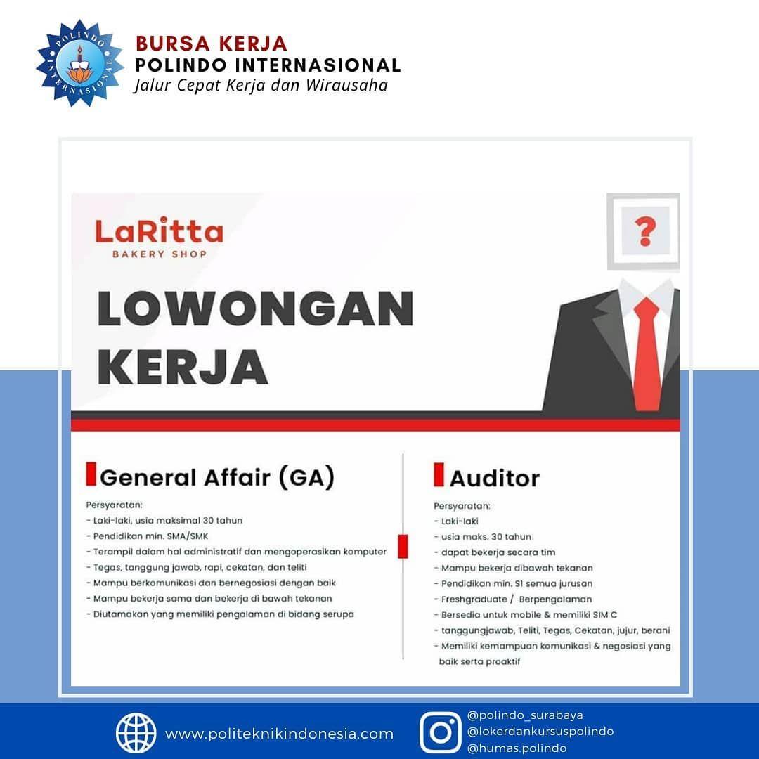 Lowongan Kerja Surabaya Pendidikan Surabaya Sma