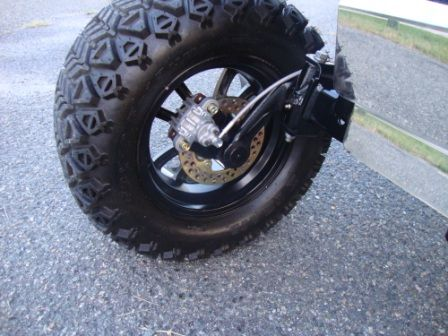Jakes lift kits with disk brakes | Custom Work on Golf Carts