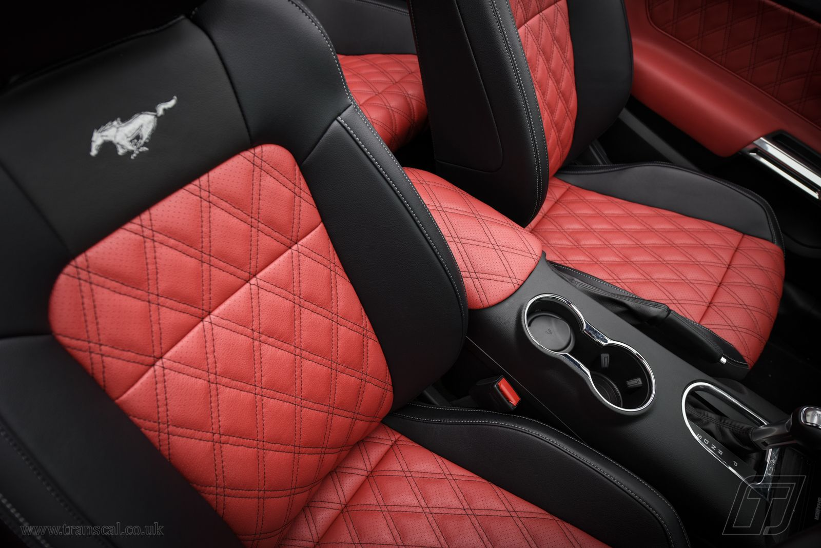 Ford Mustang Leather Interior Bespoke Cars Mustang Seats Red