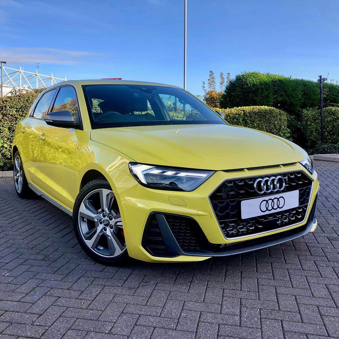 Audi A1 Sportback S Line Competition In Python Yellow The