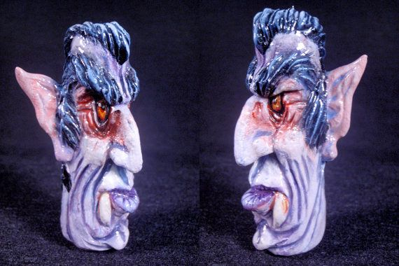 Movie Monster Chillums Count Dracula Converted Glass by ZoomBiez, $50.00