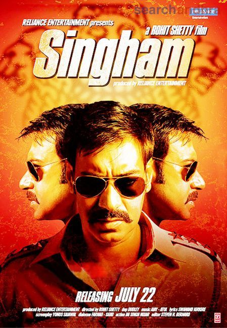 Image result for singham poster