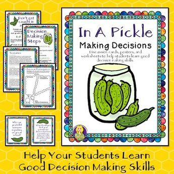 In A Pickle--Decision Making Social Skills | Therapy Tools