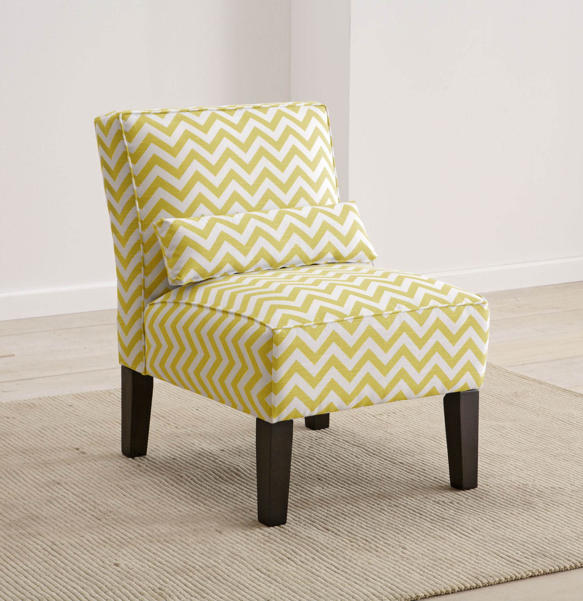 Skyline Furniture Upholstered Armless Accent Chair Available In