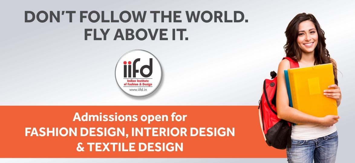 Don T Follow The World Fly Above It Admission Open For Fashion Textile Interi Fashion Designing Course Fashion Designing Institute Interior Design Courses