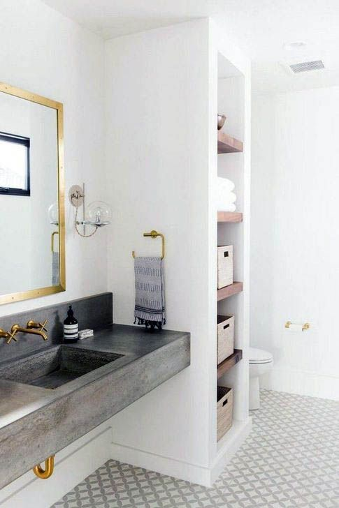 23 brilliant restroom storing suggestions to fix ALL OF ...