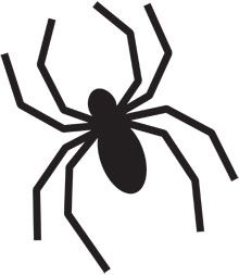 heres a spider pumpkin carving stencil to put you in a scary mood this printable halloween pumpkin carving stencil will put a fright into trick or treat - Halloween Spider