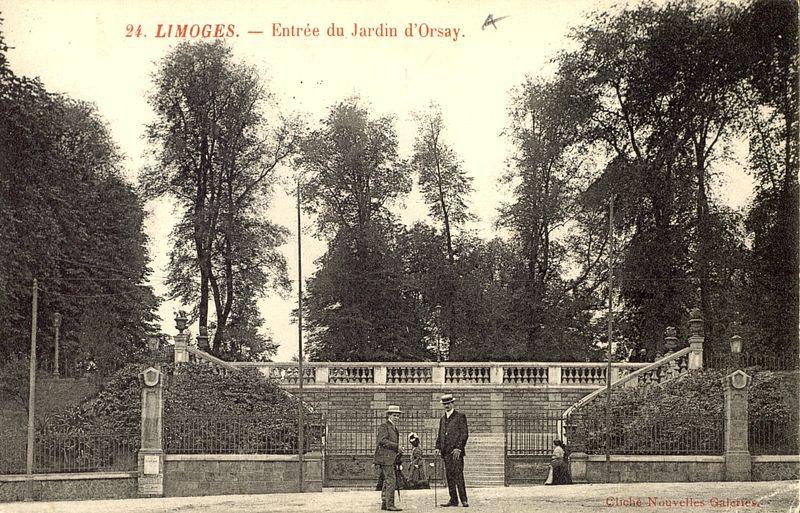 Limoges Entree Du Jardin D Orsay Bfm Limoges Limousin Limoges Entree Du Jardin