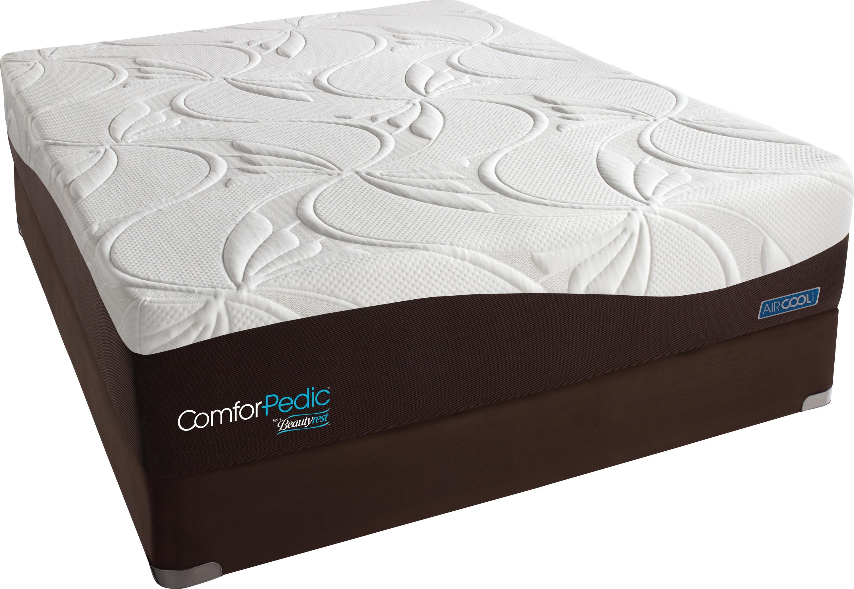 ComforPedic Balanced Days Queen Plush Memory Foam Mattress