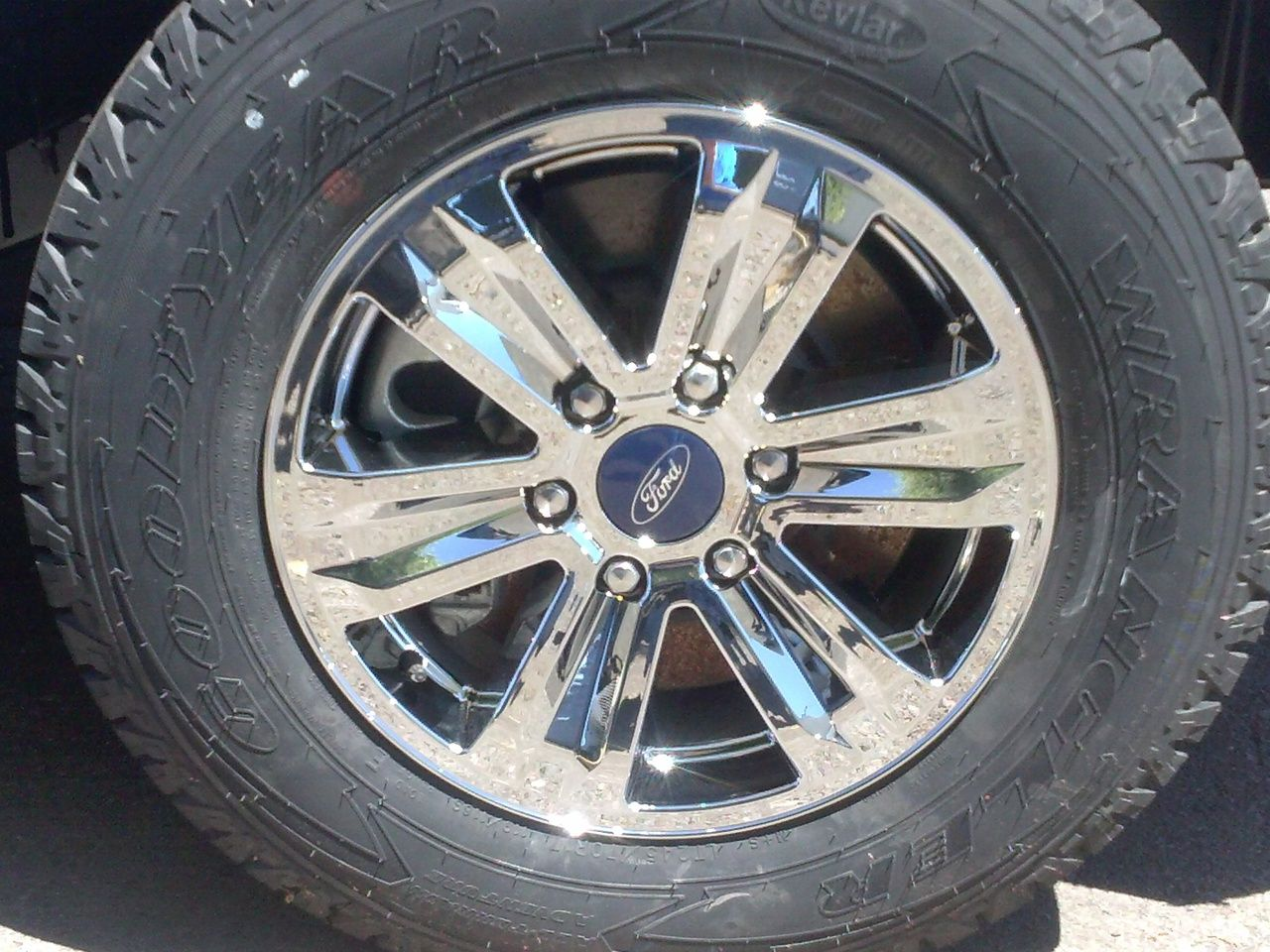 ford f150 xlt chrome wheel skins hubcaps wheel covers 17 2015 http  [ 1280 x 960 Pixel ]