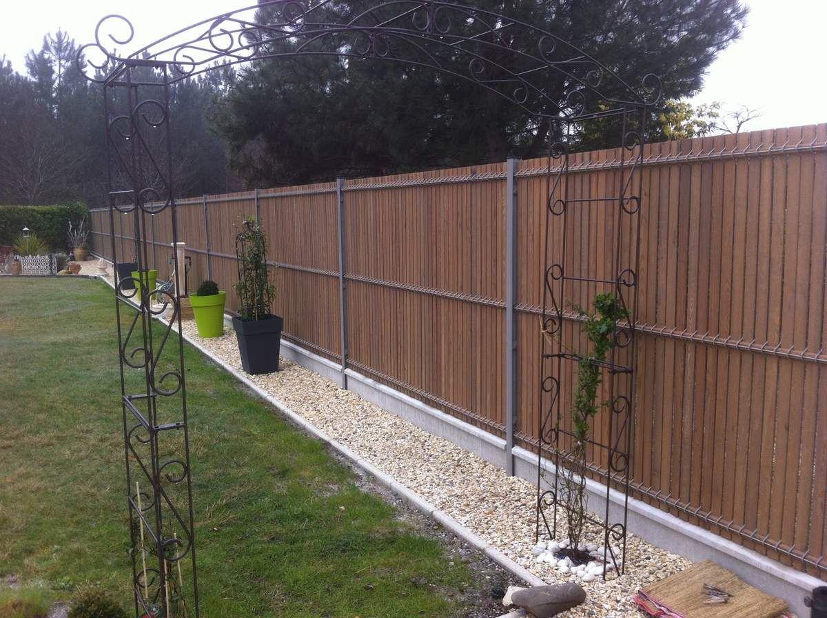 Prix D Un Mur De Cloture En Plaque De Beton clôtures grillage rigide, barrière. entreprise de rénovation