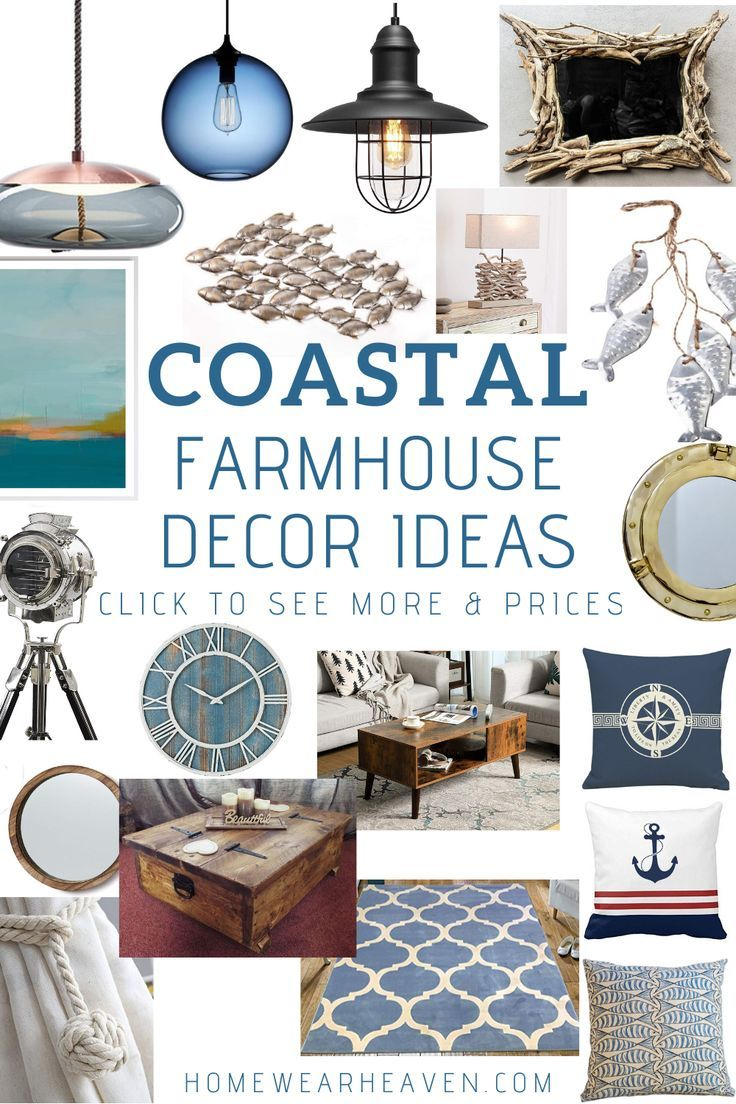 Photo of 100+ Coastal Farmhouse Decor Ideas