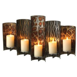 Leopard Wall Decor pier 1 safari leopard zebra 5 wall sconce candle holder -www