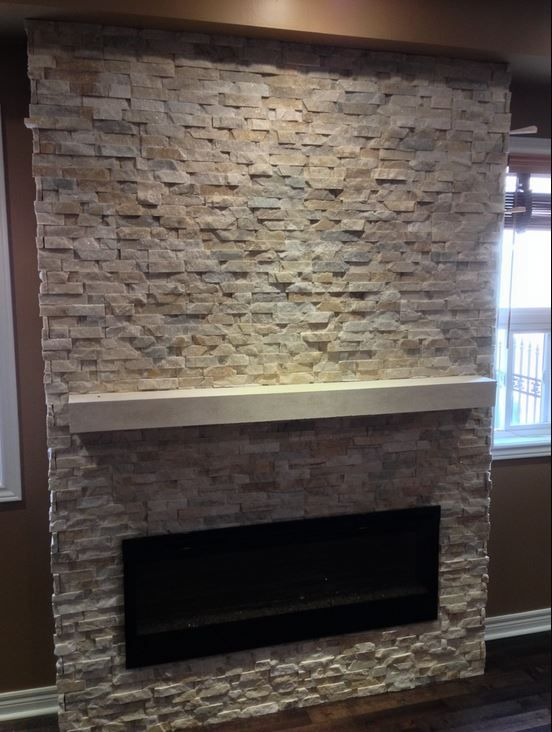 cast stone fireplace mantel shelves are not just for fireplaces rh pinterest com
