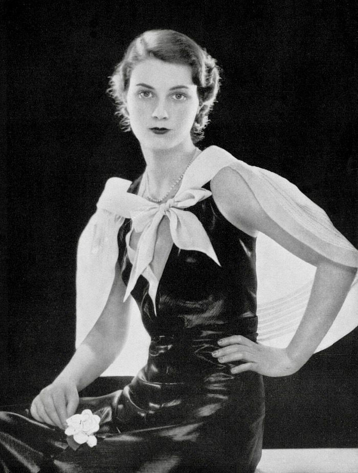 Pin by 1930s/1940s Womens Fashion on 1930s Evening Wear