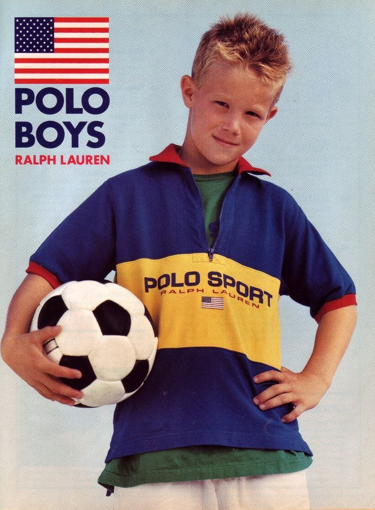 Ad 1996 W Ball Polo Sport Lauren American Flag Boy Soccer Ralph TKl1JcF3