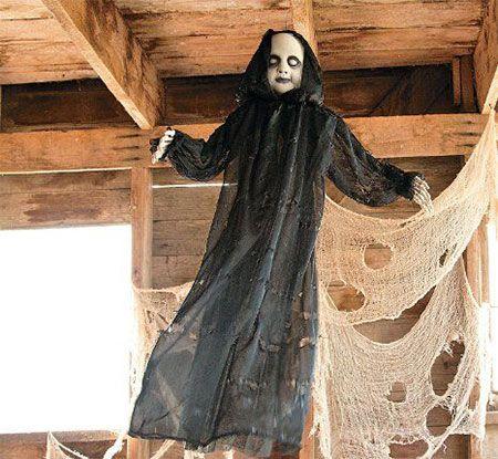 15-Cheap-Home-Made-Indoor-Outdoor-Halloween-Decoration-Ideas-2015-11 - cheap scary halloween decorations