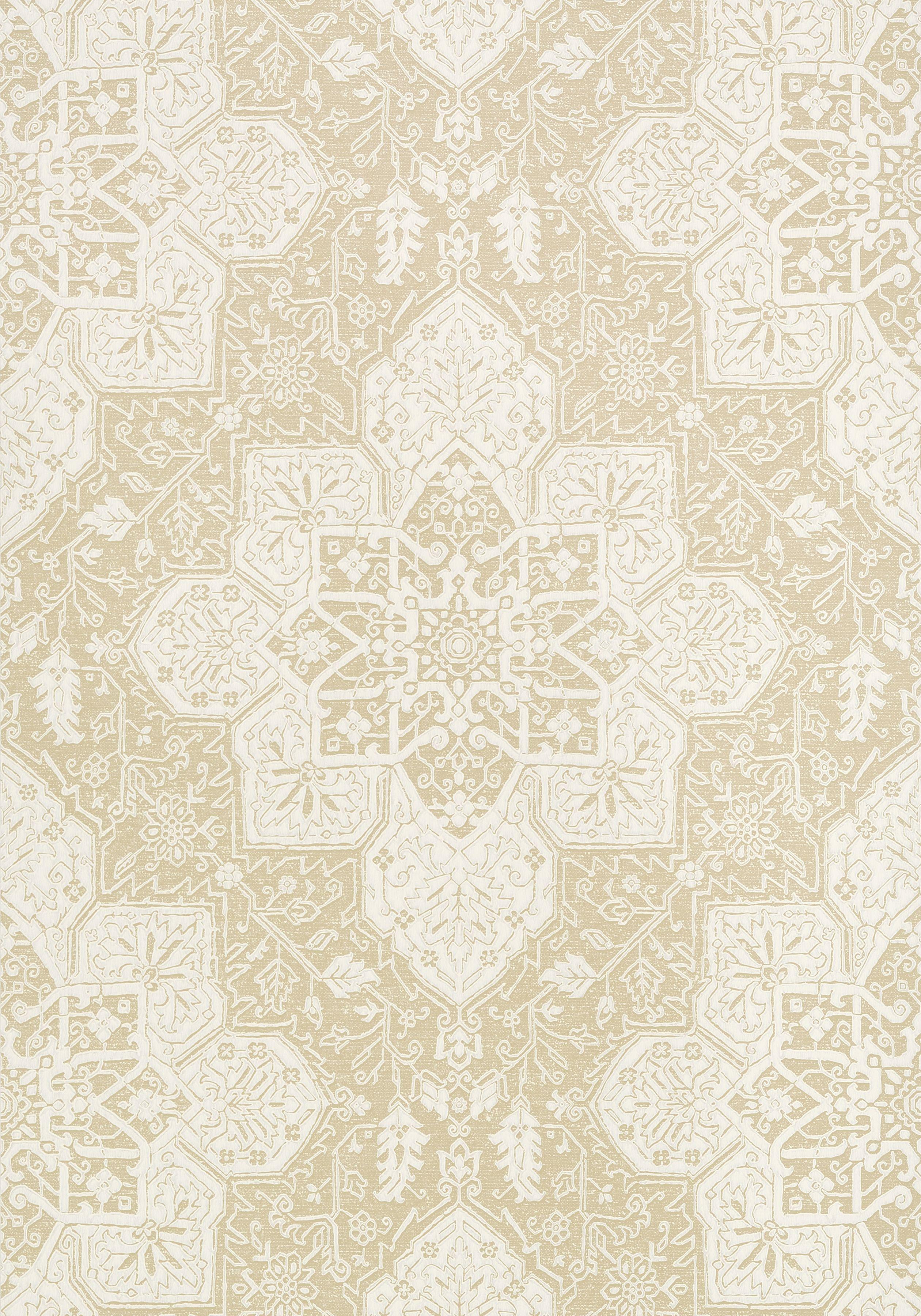 Bathroom Tile Wallpaper Tarragon Beige T64123 Collection Caravan From Thibaut Looks