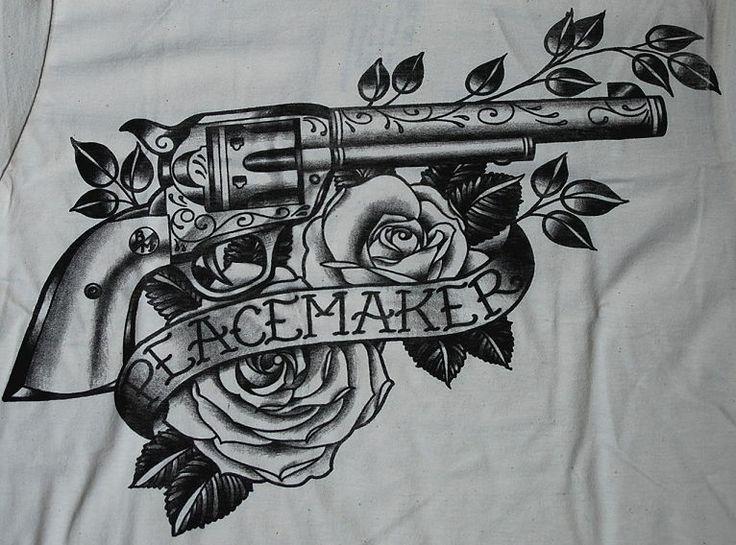 revolver tattoo szukaj w google tattoo pinterest revolver tattoo revolvers and tattoo. Black Bedroom Furniture Sets. Home Design Ideas