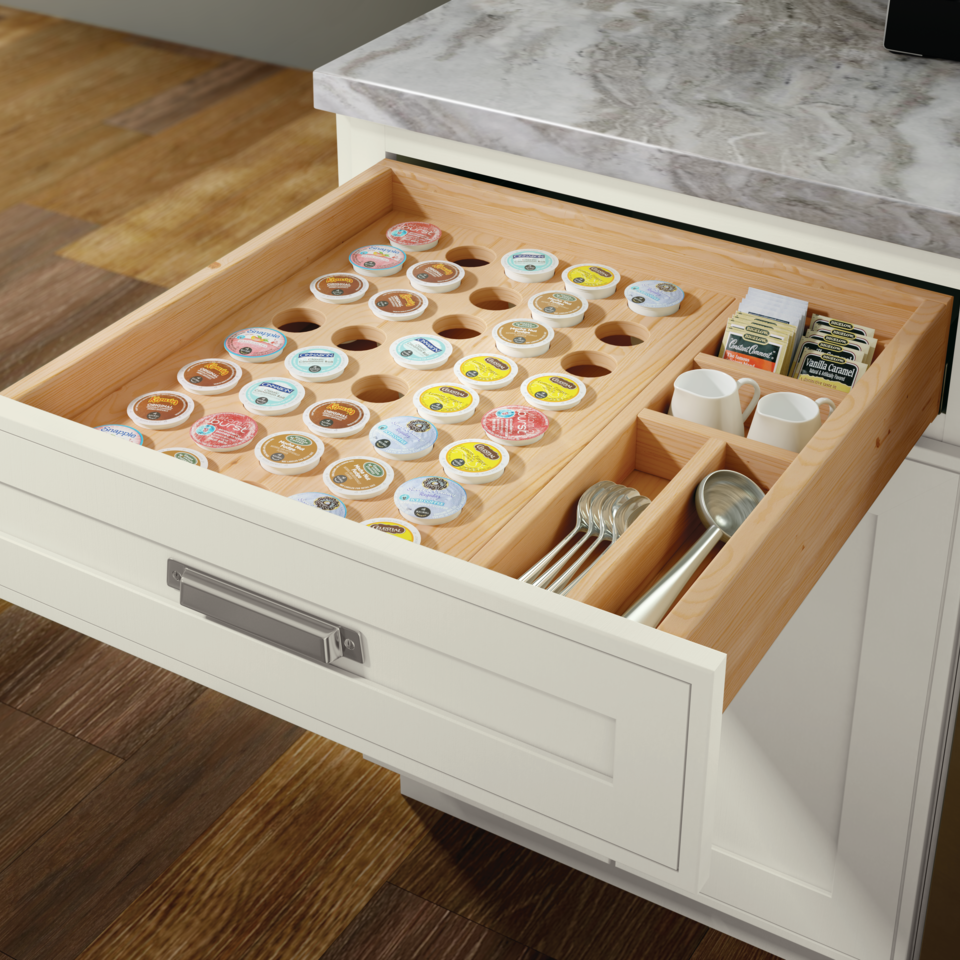 18 Decoration Ideas For Kitchen Of Your Dream: Masterpiece® K-Cup Drawer Organizer