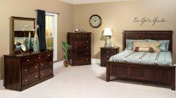 The Hampton Bedroom Set is handcrafted by Amish artisans in Ohio ...