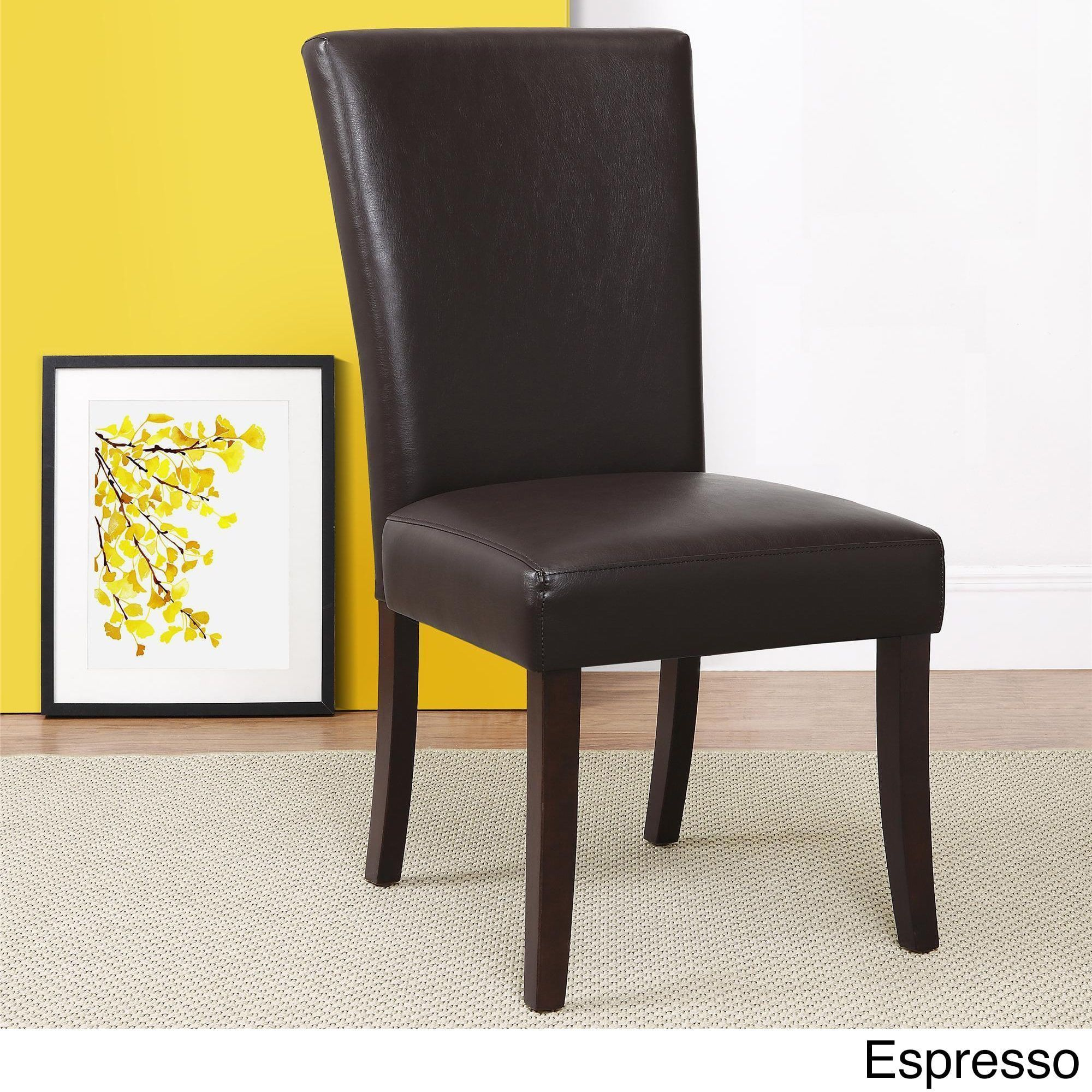 Marvelous Dorel Living Parsons Chair Products Leather Dining Beatyapartments Chair Design Images Beatyapartmentscom