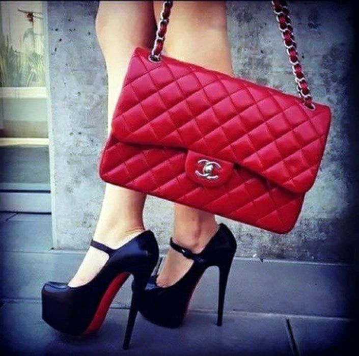17 Cool Shoes and Bags Combinations