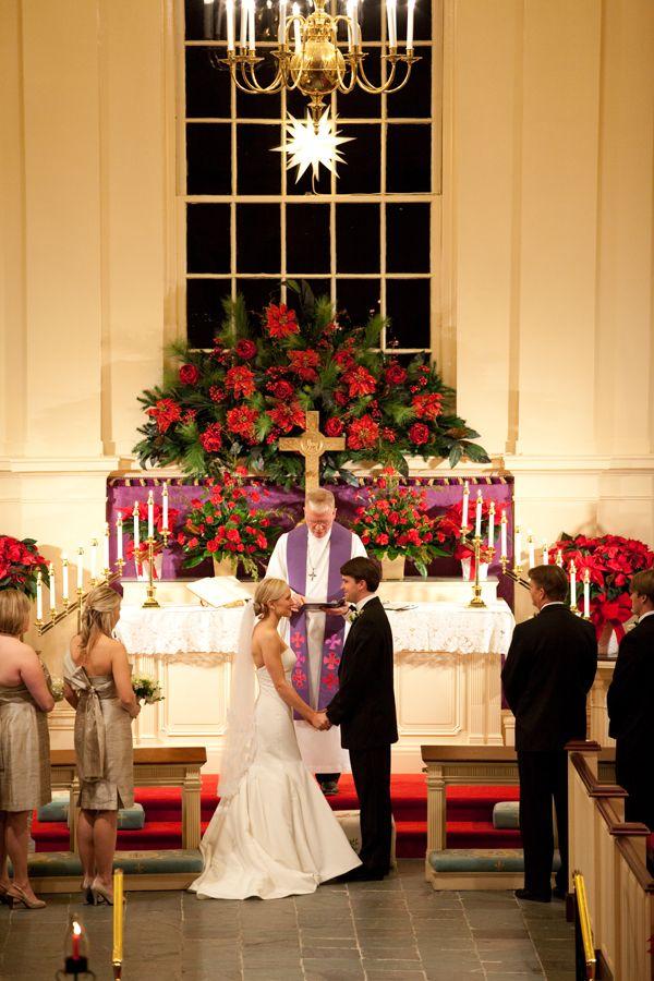 North Carolina Christmas Wedding From Meredith Perdue Part I