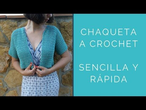 Alma Para Mujer Youtube Crochet Manos A Chaqueta Con qUS6vS
