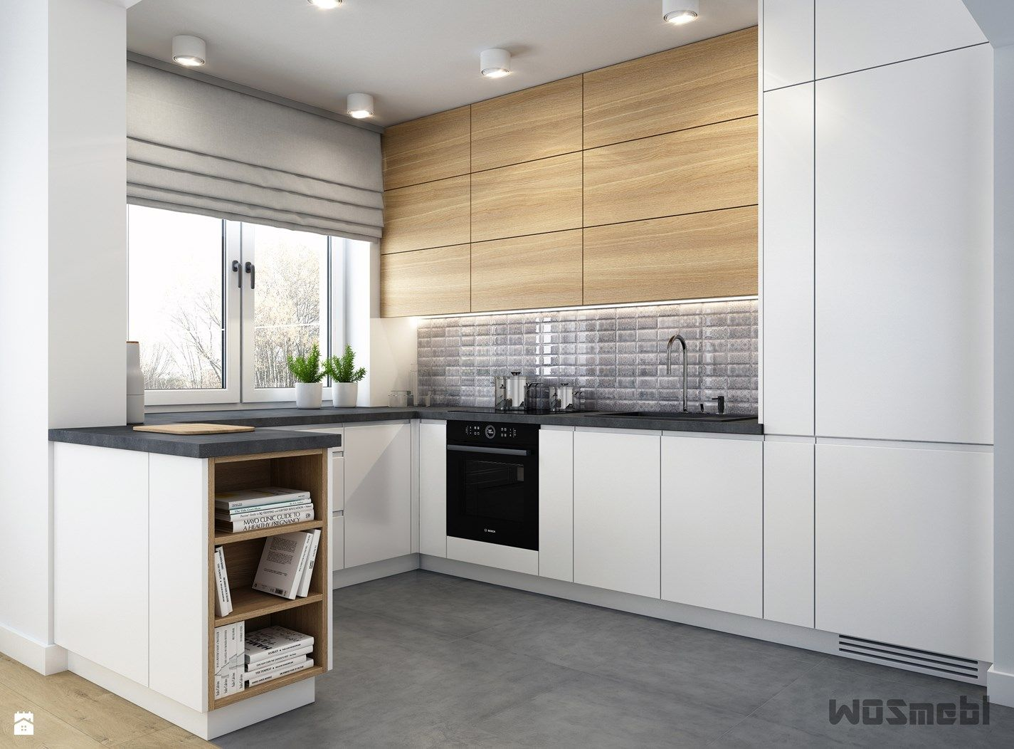 Pin By Natalia On Kuchnia Inspiracje Interior Design Kitchen Modern Kitchen Design Modern Kitchen