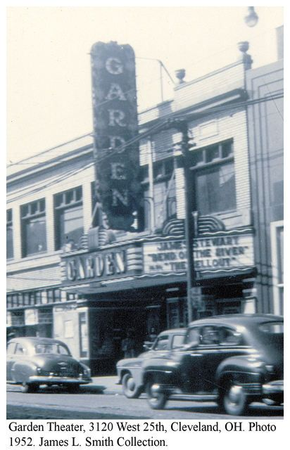 Garden Theater On West 25h Street Cincinnati Ohio Cleveland Cleveland Ohio