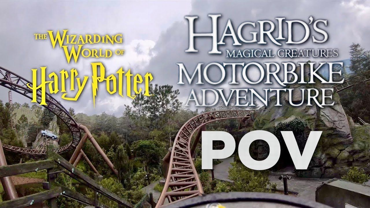 Hagrid S Magical Creatures Motorbike Adventure Full Ride Pov Wizarding World Of Harry Potte Wizarding World Magical Creatures Wizarding World Of Harry Potter