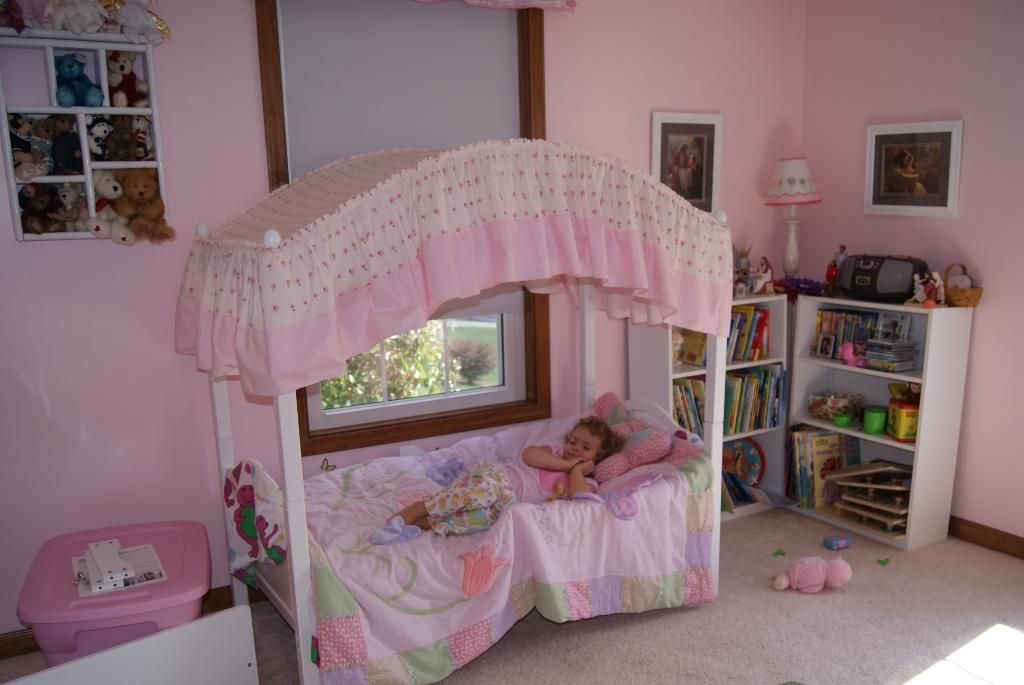 TODDLER CANOPY BED | One Step Ahead 2-In-1 Canopy Toddler Bed Reviews | Buzzillions.com & TODDLER CANOPY BED | One Step Ahead 2-In-1 Canopy Toddler Bed ...
