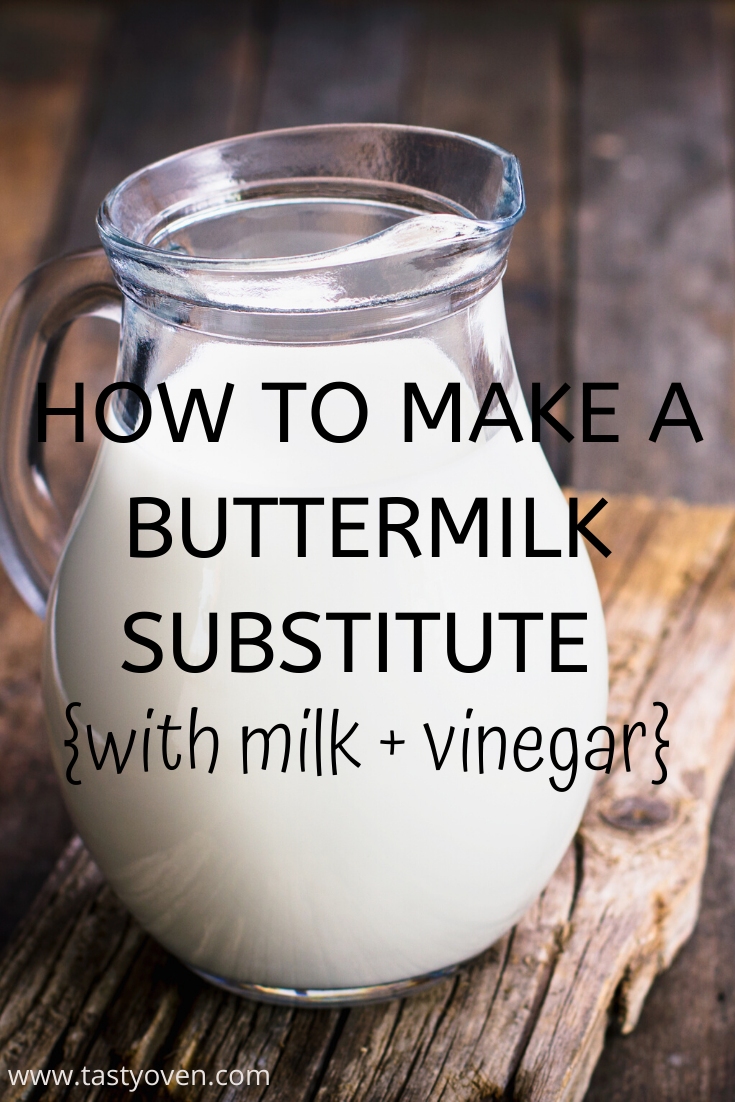Buttermilk Substitute How To Make Buttermilk With Vinegar And Milk Recipe In 2020 Buttermilk Substitute Milk And Vinegar Buttermilk