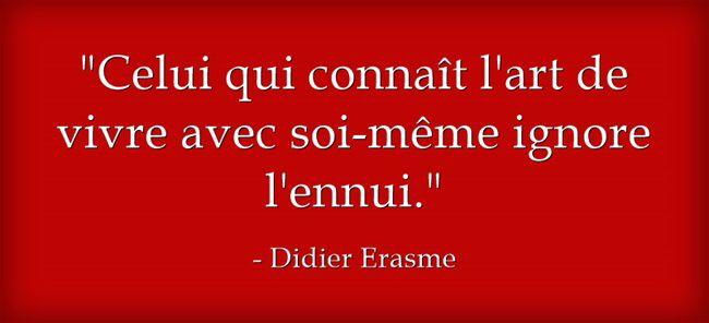 Didier Erasme Citations Pour Positiver Proverbes Et Citations