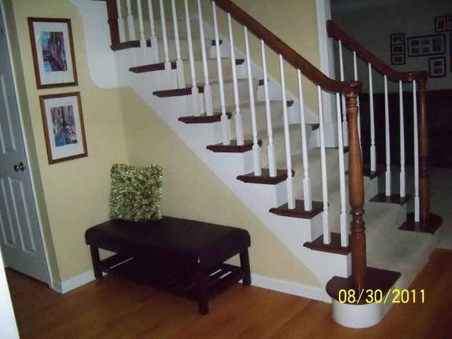 We Put Carpeting On The Stairs Because Both Of Our Mothers Are In Their  80u0027s And We Felt It Was Safer For Them Than Hardwood.
